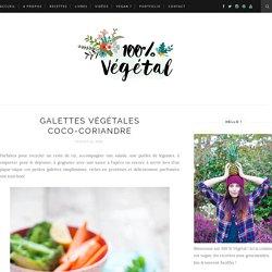 Galettes végétales coco-coriandre - 100 % Végétal