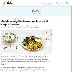 Galettes végétariennes au brocoli et au parmesan