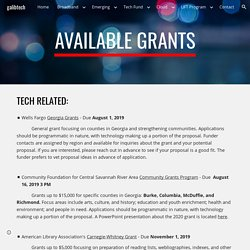 galibtech - Available Grants