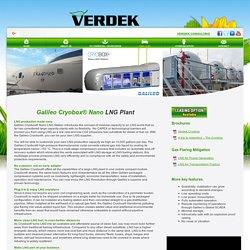 Small-Scale LNG Liquefaction Plant - Verdek