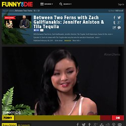 Between Two Ferns with Zach Galifianakis: Jennifer Aniston & Tila Tequila from Between Two Ferns, Zach Galifianakis, Jennifer Aniston, Tila Tequila, Scott Aukerman, BJPorter, Cha-Ching Pictures, dannyjelinek, BoTown Sound, and Funny Or Die