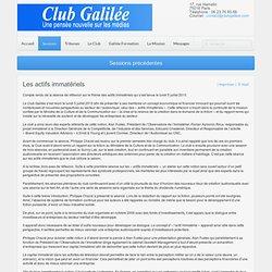 Club Galilée - Les actifs immatériels dans le secteur audiovisuel - 2 juillet 2010