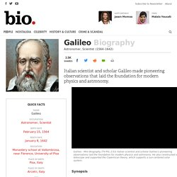 Galileo - Astronomer, Scientist