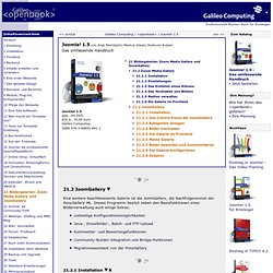 Joomla! 1.5 – 21.2 JoomGallery