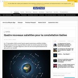 """Galileo, le """"GPS"""" européen, sera mis en service en décembre."""