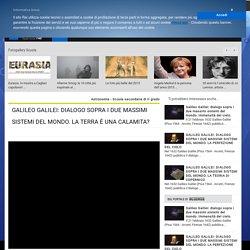 GALILEI: Dialogo sopra i 2 massimi sistemi del mondo: La terra è una calamita?