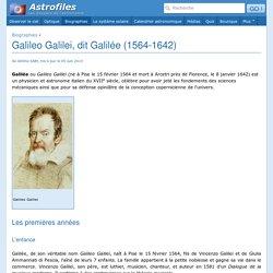Galileo Galilei, dit Galilée (1564-1642)