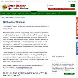 Gallbladder Symptoms - Gallbladder Disease