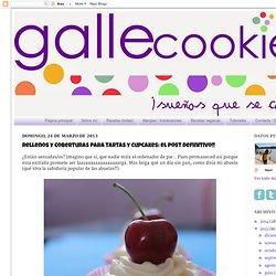 gallecookies: Rellenos y coberturas para tartas y cupcakes: el post definitivo!!