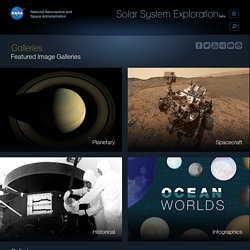 Galleries - NASA Solar System Exploration
