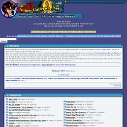 Anime Galleries dot Net - Welcome ! Pics, Images, Screencaps, and Scans