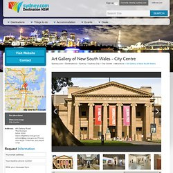 Art Gallery of New South Wales - City Centre Attraction