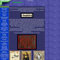 Idea Gallery, Collage ideas, samples page