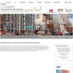 Agora Gallery Art Contest - Le Concours International des Beaux-arts de Chelsea