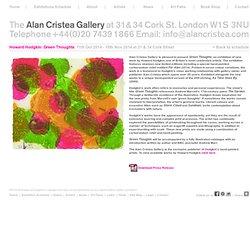 Alan Cristea - Howard Hodgkin: Green Thoughts