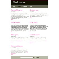Gallery – FlexLayouts