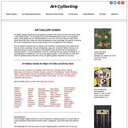 Art Gallery Guides - Directory of Art Galleries in the United States