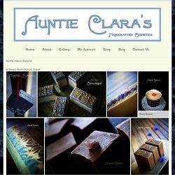 Auntie Clara's Gallery - Auntie Clara's Handcrafted Cosmetics