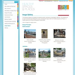 Image Gallery - Healthy Spaces & Places