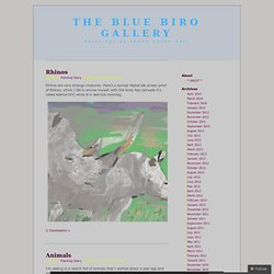 The Blue Biro Gallery