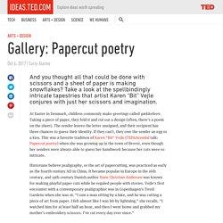 Gallery: Papercut poetry