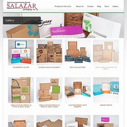 Gallery - Salazar Packaging