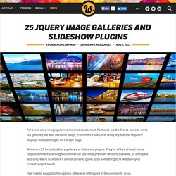 Image galleries. jQuery slideshow. jQuery Gallery.