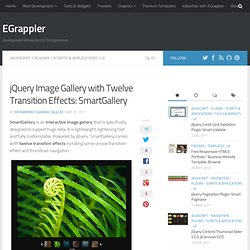 jQuery Image Gallery and Slider with Transition Effects