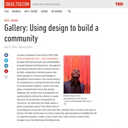 Gallery: Using design to build a community