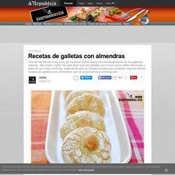 Recetas De Galletas Con Almendras