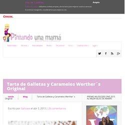 Tarta de Galletas y Caramelos Werther´s Original - Pintando una mamá