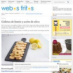 Galletas de limón y aceite de oliva