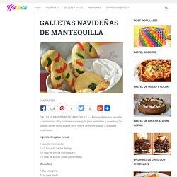 GALLETAS NAVIDEÑAS DE MANTEQUILLA - Yuleida