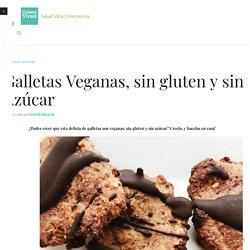Galletas Veganas, sin gluten y sin Azúcar