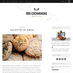 Galletitas de queso –