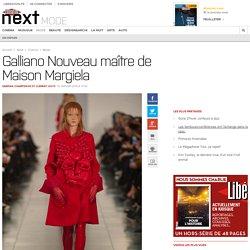 Galliano Nouveau maître de Maison Margiela