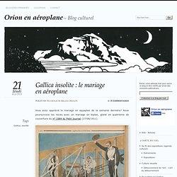 Gallica insolite : le mariage en aéroplane