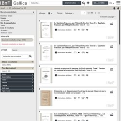 Ebooks sur Gallica (B.N.F.)