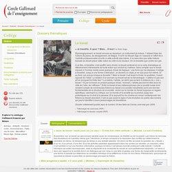 Cercle Gallimard de l'enseignement/Le travail