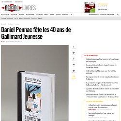 Daniel Pennac fête les 40 ans de Gallimard Jeunesse