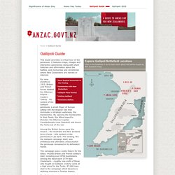 Gallipoli Guide - Anzac Day for New Zealanders