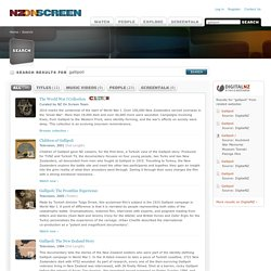NZ on Screen - Gallipoli search results