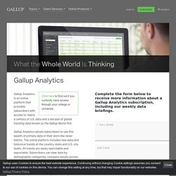 Gallup Analytics
