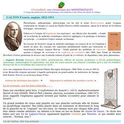 Galton Francis