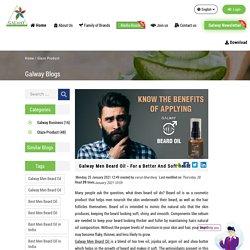 Galway Men Beard Oil - For a Better And Soft Beard