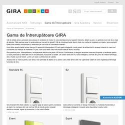 Gama de Intrerupatoare GIRA