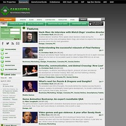 Gamasutra Features