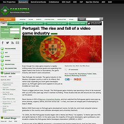 Portugal: The rise and fall of a video game industry