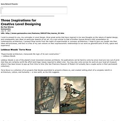 Gamasutra Printer Friendly Article