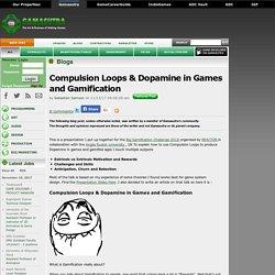Sebastien's Blog -Compulsion Loops & Dopamine in